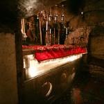 Православный престол над ложем Богородицы