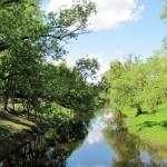 Реки и острова