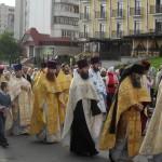 Начало крестного хода