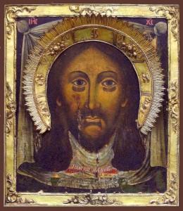 Спас Нерукотворный (46 х 52 см). Находится в Свято-Троицком храме в г.Львове.