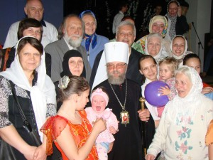 """32. """"Сколько зим, сколько лет!""""встреча прихожан епархии с владыкой Августином."""